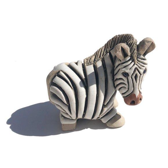 Vintage Artesania Rinconada Zebra Figurine